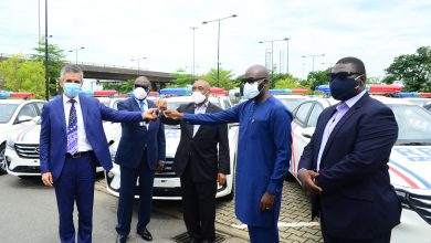 Photo of Dangote Group donate 35 vehicles to LSSTF